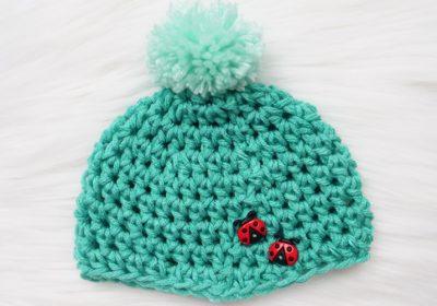 Simple Preemie Crochet Hat