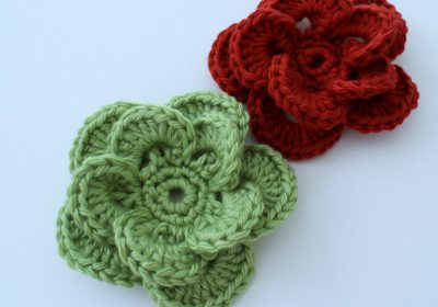 Wagon Wheel Crochet Flower