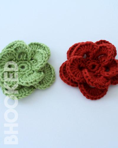 Wagon Wheel Crochet Flower Pattern