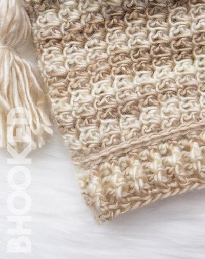 Tassel Crochet Baby Hat