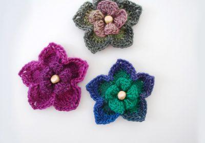 3D Crochet Flower
