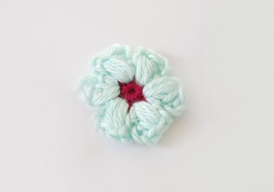 Puff Stitch Flowers