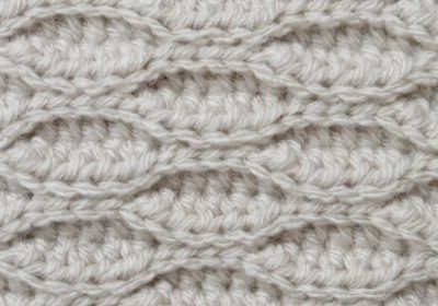Textured Wave Crochet Stitch