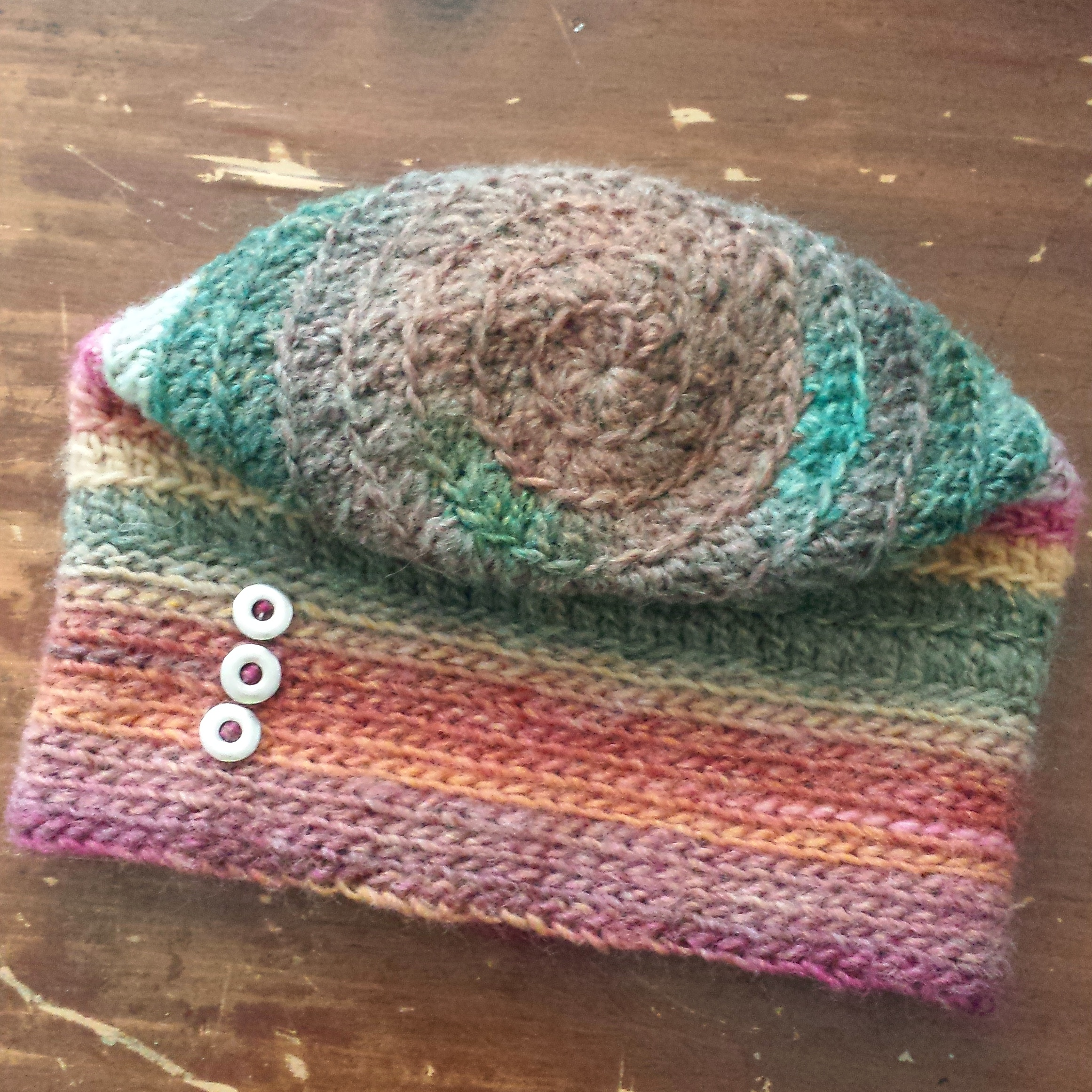 Fall For Me Spiral Hat : Free Crochet Pattern