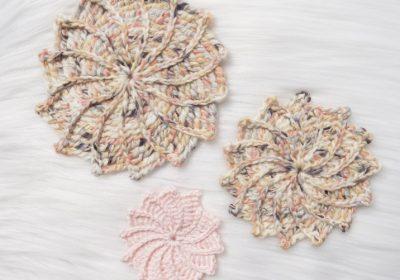 Spiral Crochet Flower
