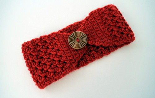Free Crochet Patterns For Headbands With Button Closure : B.hooked Crochet - Free Crochet Patterns and Video Tutorials