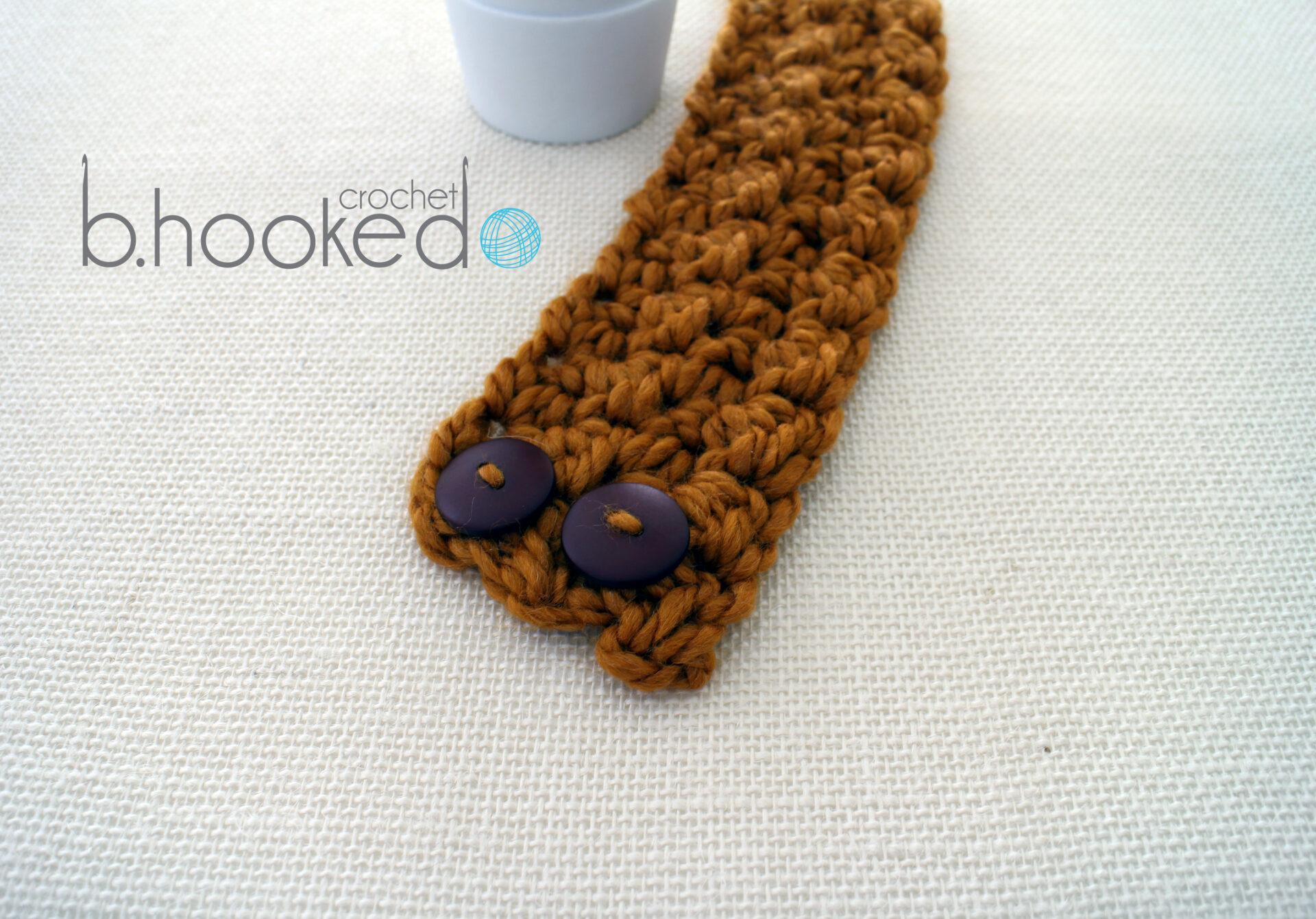 Crochet Pattern by B. Hooked Crochet, Copyright 2013.