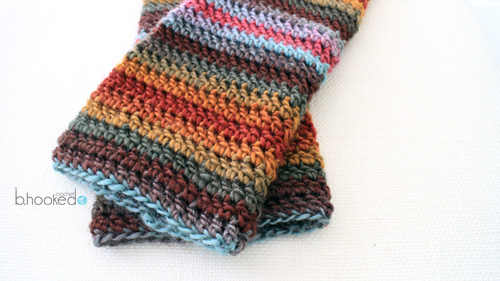 Beginner Crochet Leg Warmers 4