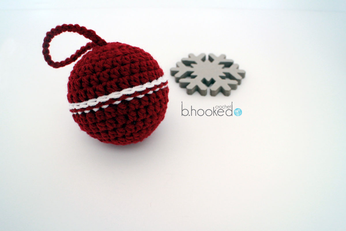 Crochet Christmas Bauble Ornaments