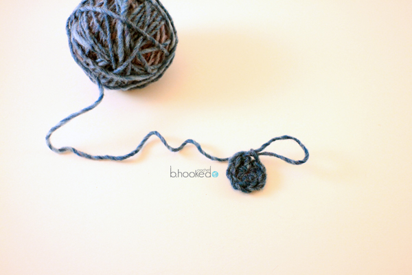 Crochet Stitches Magic Loop : How to crochet the Magic Ring with Single Crochet Stitches