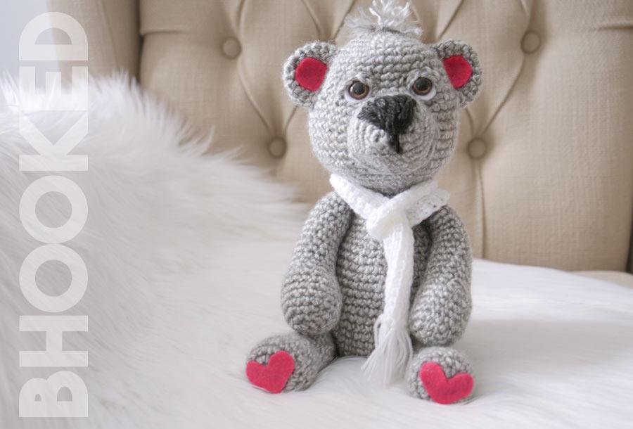 Ben the Crochet bear