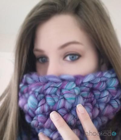 Finger Crochet Cowl - B.hooked Crochet