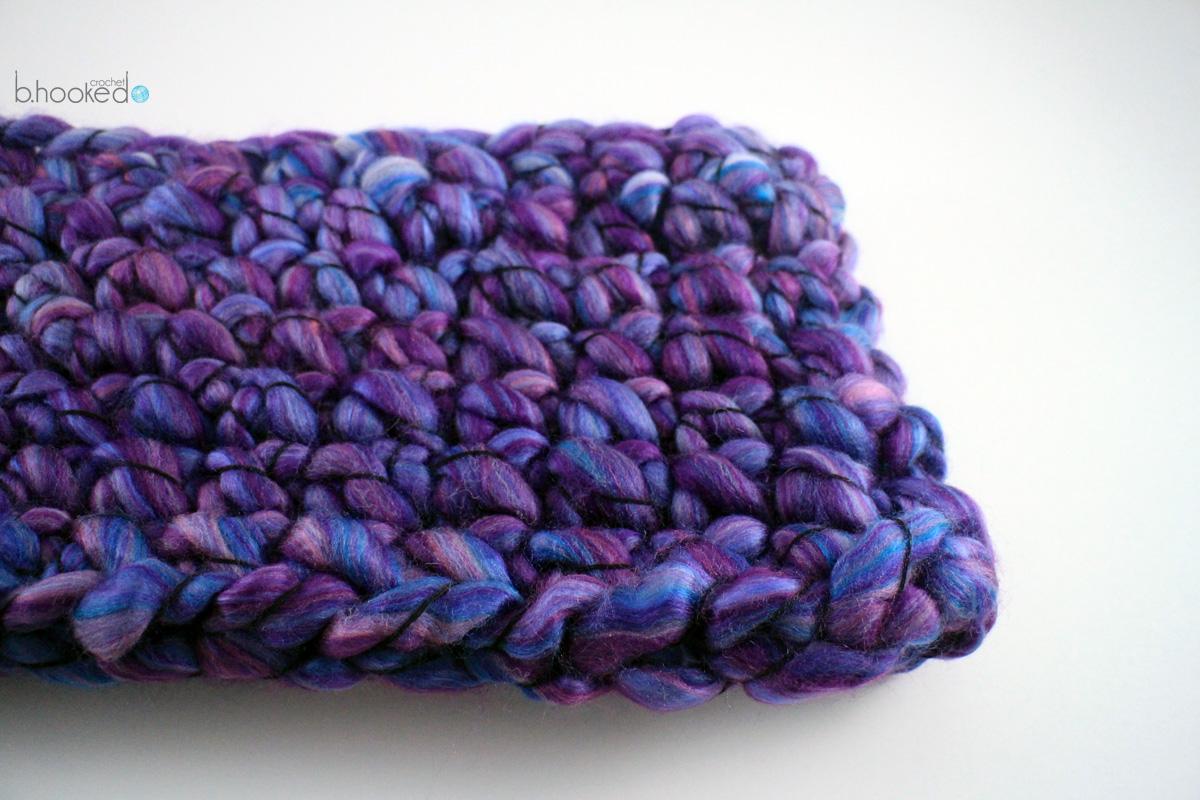 Finger Crochet Cowl