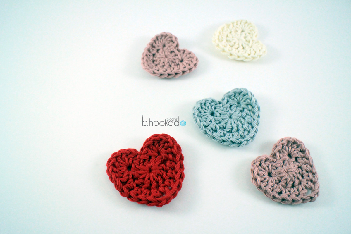Sweet crochet hearts free pattern video tutorial bhooked sweet crochet hearts free pattern video tutorial bhooked crochet bankloansurffo Images