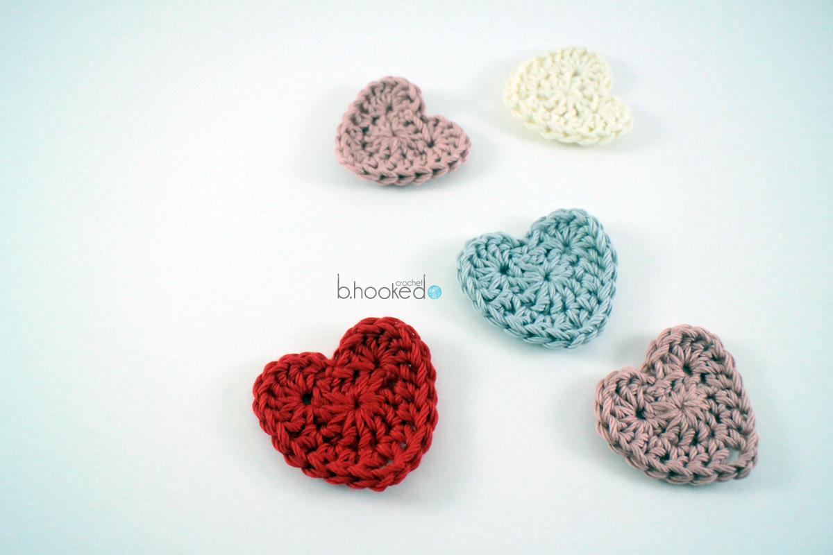Sweet Crochet Hearts