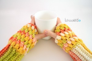 Puff Fingerless gloves Feature image 2
