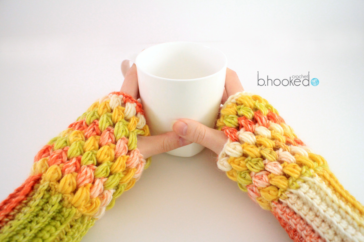 Puff stitch fingerless gloves free pattern tutorial bhooked puff stitch fingerless gloves free pattern tutorial bhooked crochet bankloansurffo Image collections
