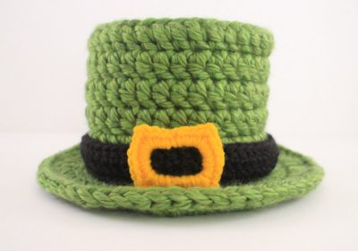 St. Patrick's Day Baby Crochet Top Hat
