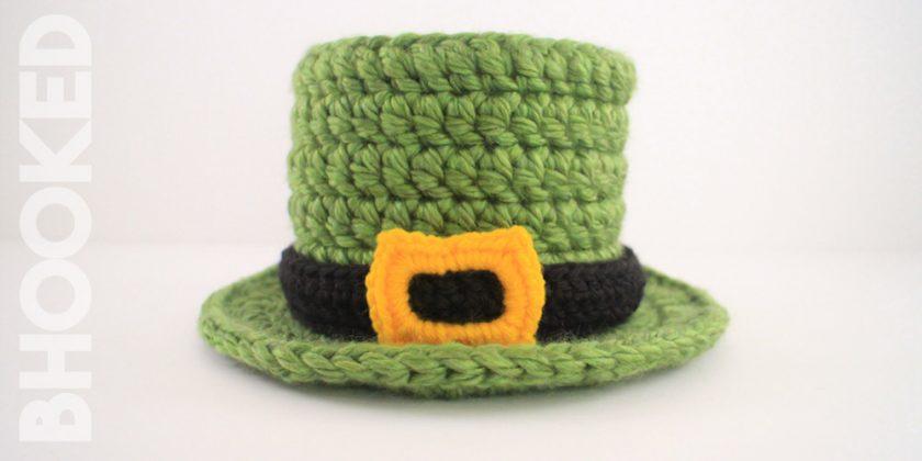 St. Patrick's Day Baby Crochet Top Hat