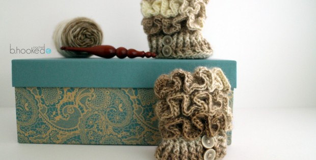 Ruffled Booties Featured Image
