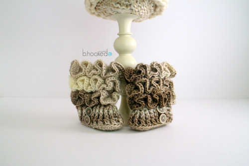 Ruffled Booties for Web 4