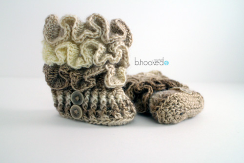 Ruffled Booties for Web