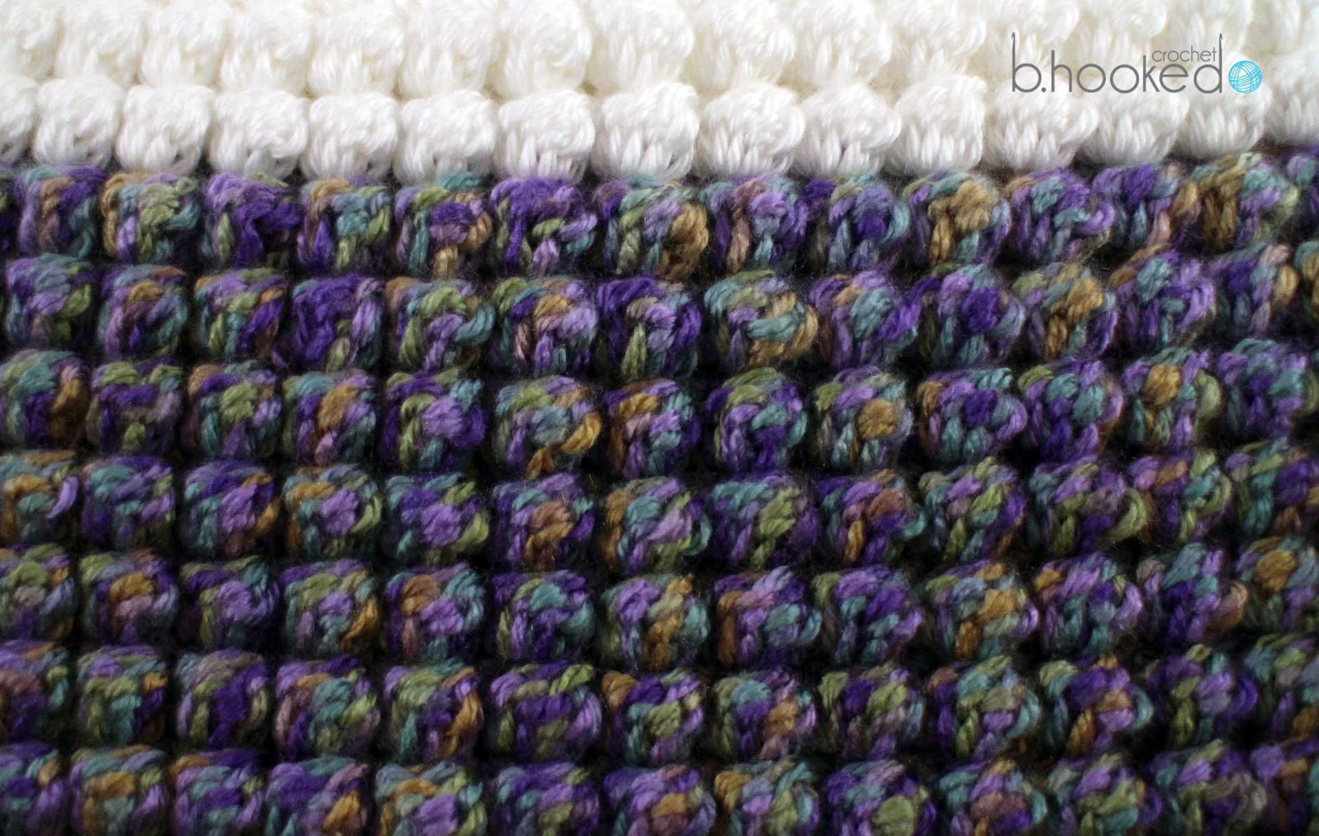 Crochet Bobble Stitch - B.hooked Crochet