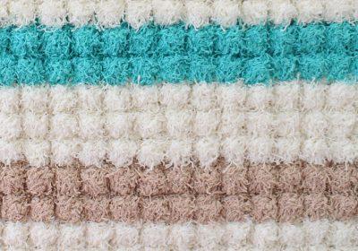Crochet Bobbles In a Row Stitch