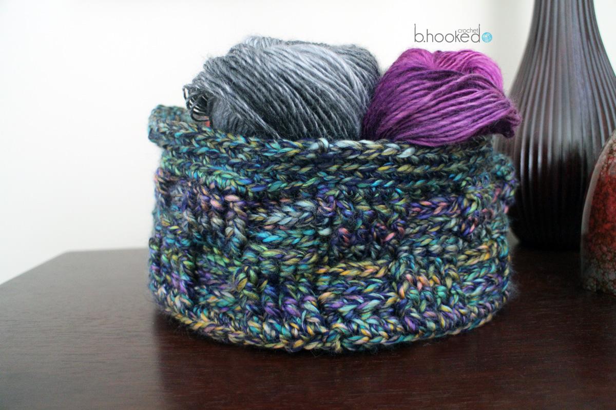 Medley Crochet Basket
