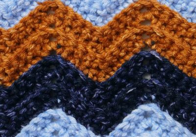 Crochet Chevron Stitch