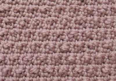Pebble Crochet Stitch