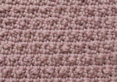 Pebble Crochet Stitch