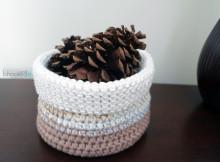 Cotton Crochet Basket Featured Image