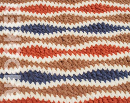 Crochet Wavelength Stitch