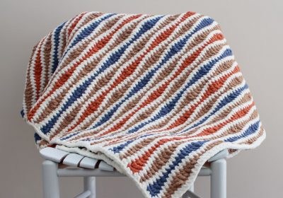 Wavelength Crochet Blanket