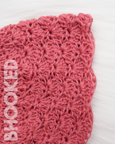 Lace Crochet Baby Bonnet