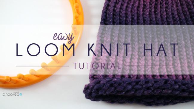 Loom Knitting Kits : Boye loom kit review and project tutorial b hooked crochet
