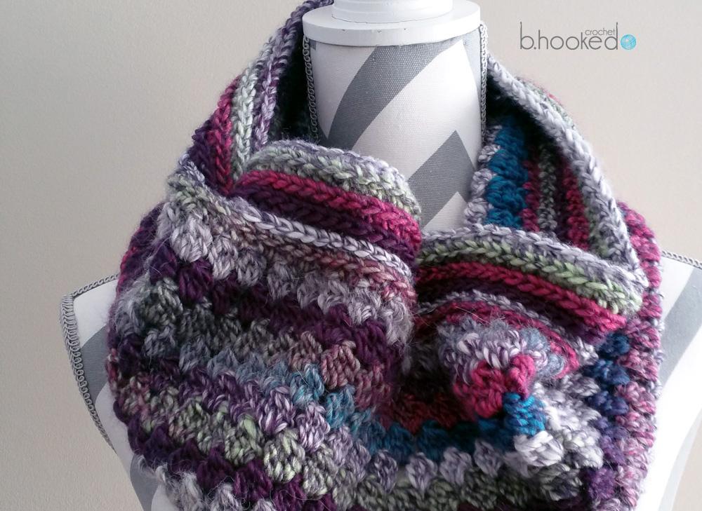 Skyscraper Crochet Cowl