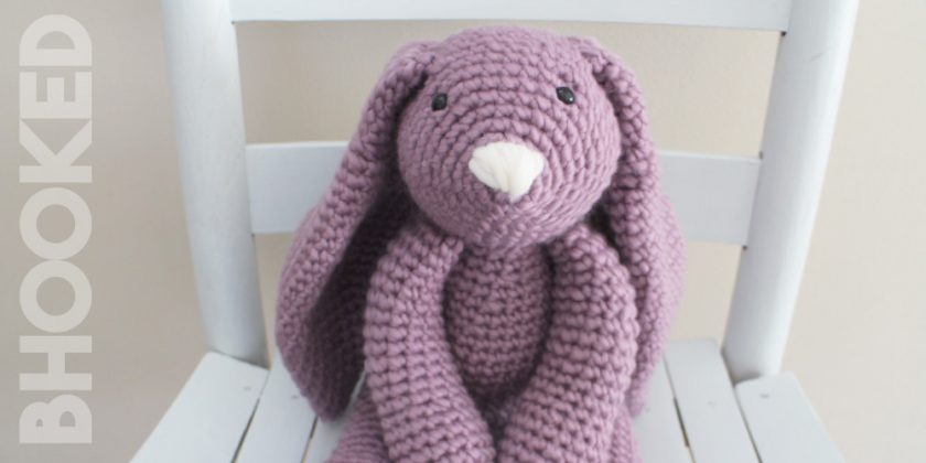 """Layla"" the Crochet Bunny"