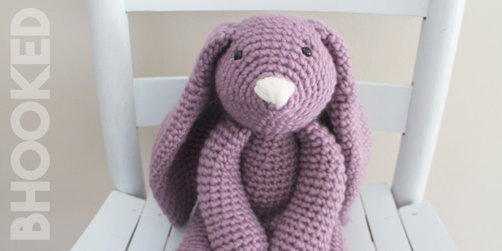 Crochet Big Flappy Ear Bunny Amigurumi Free Pattern | 501x1000