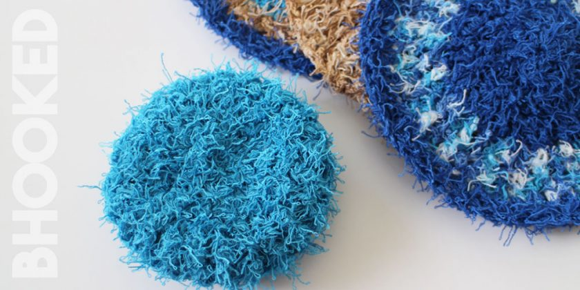 Crochet Scrubby Set