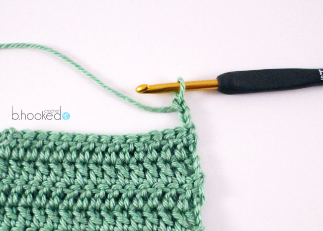 Crocheting Rows Turning : Crochet Rows: Where to Begin and End - B.hooked Crochet