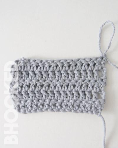 crochet straight edges