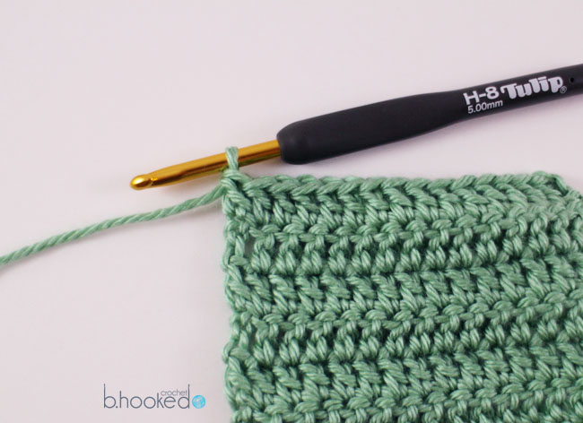 Crocheting In Rows : Crochet Rows: Where to Begin and End - B.hooked Crochet
