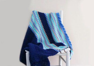Baby Waves Crochet Baby Blanket
