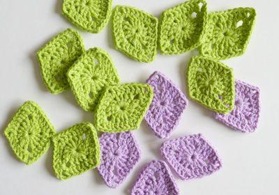 How to Crochet a Diamond
