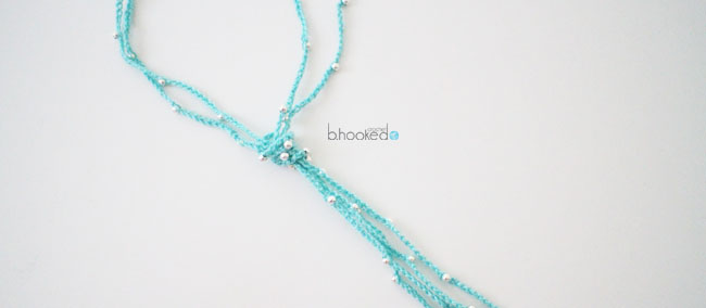 Crochet Beaded Chain