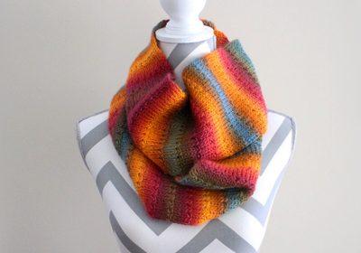 Knit Alike Tunisian Crochet Scarf
