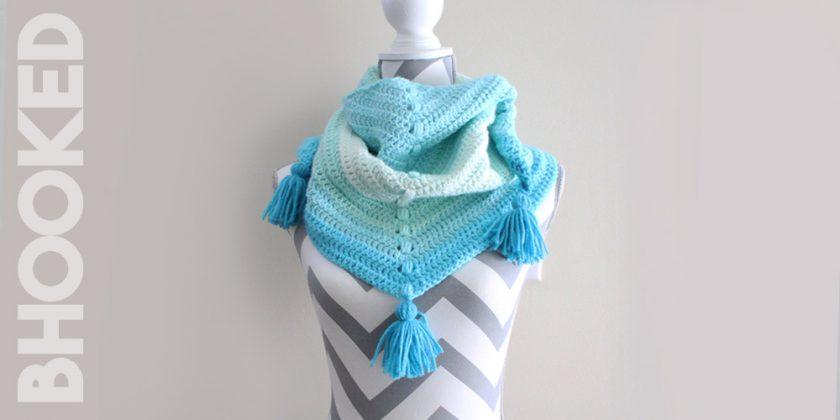 Cake Yarn Crochet Cowl