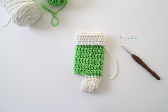 mini crochet stockings